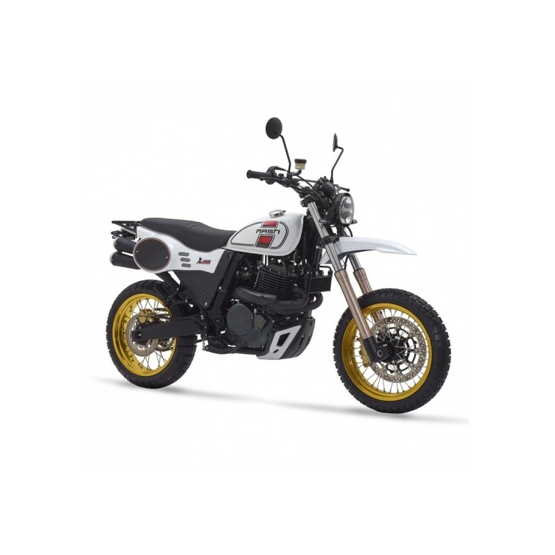 Mash X-Ride 650 Blanc